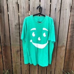Kool Aid Men's Green Shirt
